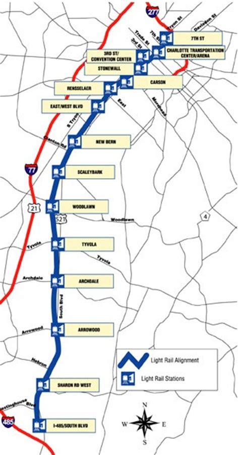 Charlotte Light Rail Route Map My Blog