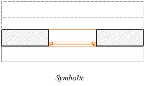 window in plan floor plan display of door window symbolic vs projected
