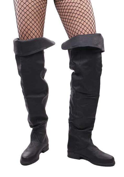 mens high boots pleaser maverick 8824 s thigh high pig lea boot ebay