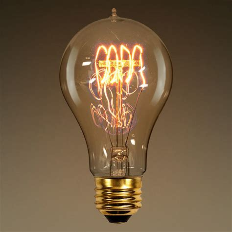 40 watt vintage light bulb 4 5 in length victorian