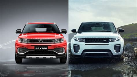 land wind x7 no longer a copycat range rover evoque s chinese