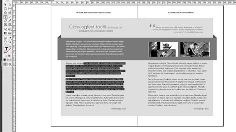indesign book templates indesign book template dorian