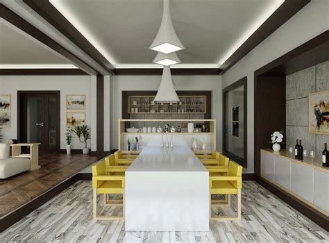 cool contemporary dining room interior design ideas