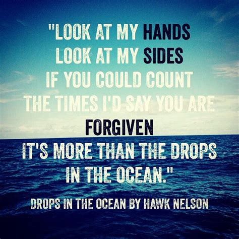 christian song quot drops in the quot hawk nelson song lyrics
