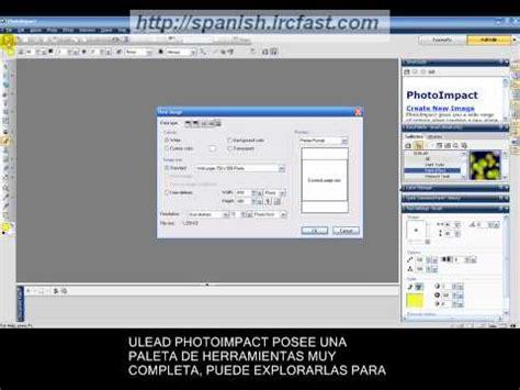 tutorial ulead youtube v 237 deo tutorial de instalaci 243 n y uso de ulead photoimpact