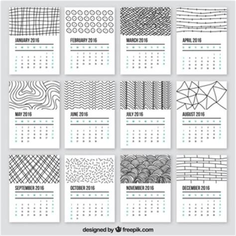 doodle calendar view templates vectors 30 100 free files in ai eps svg