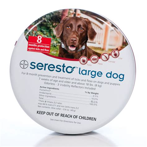 seresto flea collar small seresto collar flea tick petsolutions