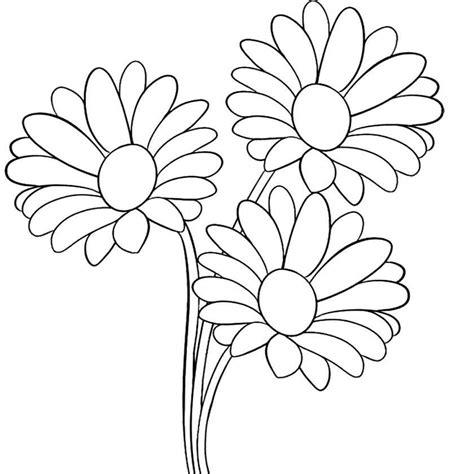 disegni da stare e colorare fiori disegni di fiori da stare fiori da colorare e ritagliare