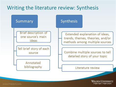 themes in a literature review writing the literature review ppt video online download