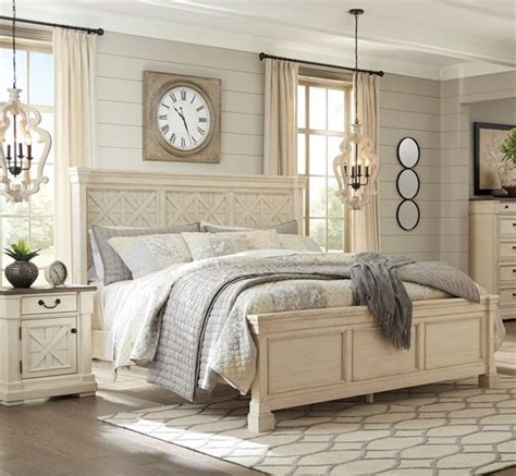 Bolanburg Bedroom Set by Furniture Bolanburg White 2pc Bedroom Set With