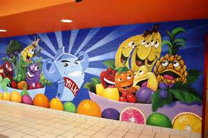 Upholstery In Austin Hand Made Elementary Lunch Room Wall Murals By Patricks