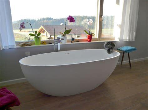 badewannen abverkauf piemont freistehende mineralguss badewanne wei 223 matt