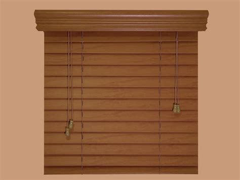 2 quot faux wood blinds size 46 quot w x 48 quot l stain colors