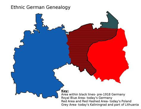 map of german provinces researching lost eastern german provinces manyroads