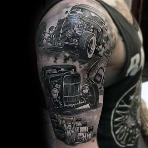automotive tattoo sleeve 82 outstanding insane tattoos and ideas inked on all body
