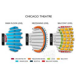 Chicago Theater Seat Map by Chicago Theatre Tickets Chicago Theatre Information