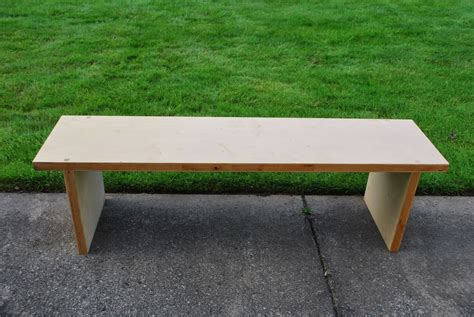 composite wood bench natural wood bench based on lightweight torsion box