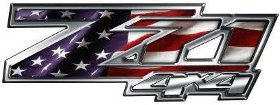 2 chevrolet z71 decals stickers 13x4 5 inch custom