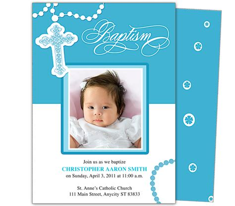 baptism photo card template baby baptism christening invitations printable diy infant