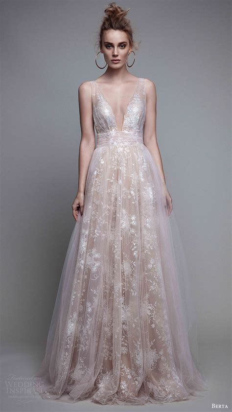 Evening Dress Wedding by Berta Fall 2017 Ready To Wear Collection Wedding Inspirasi