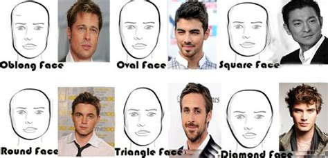 different head shapes men hairstyles for different face shapes male hairstyles