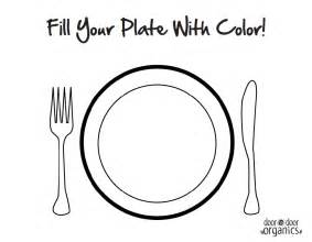 Empty Plate Coloring Page empty plate coloring page coloring pages