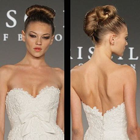 bridal hairstyles classic acconciature sposa chignon
