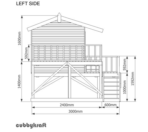 plans for a cubby house country cottage cubby house australian made backyard