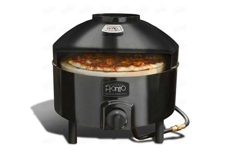 stovetop pizza cooker pizza oven dual layer outdoor cooking patio deck backyard
