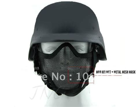 Outdoor Sport Sepatu Tactical Original Swat Black protection steel mesh mask m88 airsoft paintball bb