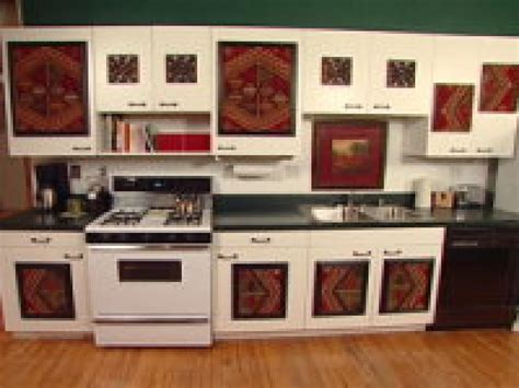 decorating ideas for kitchen cabinets clever kitchen ideas cabinet facelift hgtv