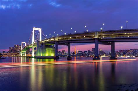 eclairage ecran fond d 233 cran tokyo capitale m 233 tropole pont lumi 232 res