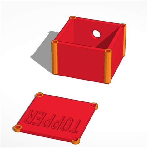 Box File Jumbo Yushinca 105cm archivo stl caja para topper controlador cults