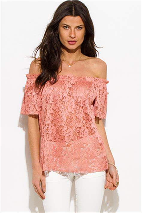 Pastel Blouse Gucci Tunik Knit pastel pink ribbed knit shoulder backless kimono