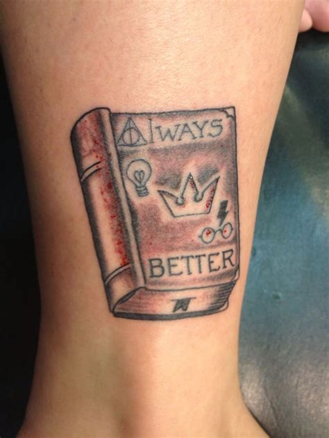 double meaning tattoos my harry potter always better meaning
