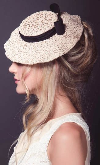Updo Hairstyles For Hats by The 98 Best Images About Hats Veils Lace On