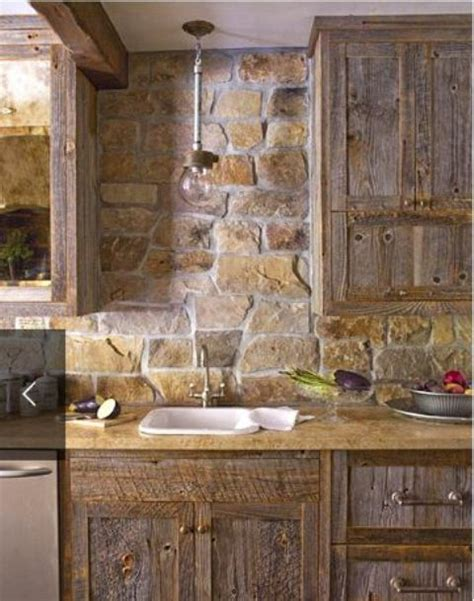 stone kitchen ideas 29 cool stone and rock kitchen backsplashes that wow