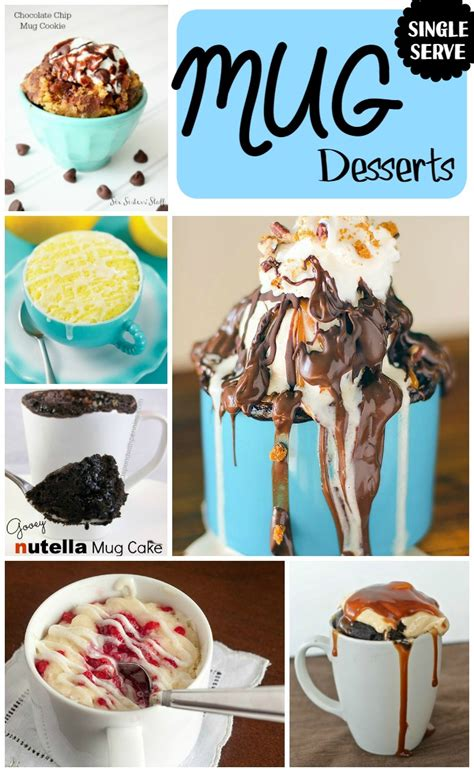 single serve mug desserts quick and easy double the batch