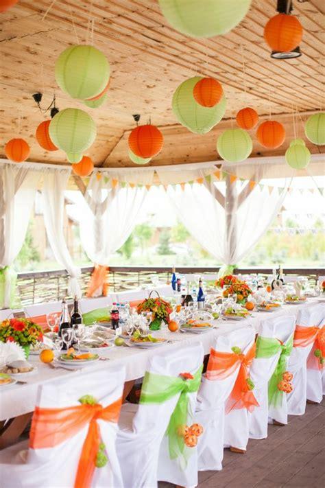 Hochzeitsdekoration Gr N by Hochzeitsfeier Ideen In Verschiedenen Farbnuancen 40