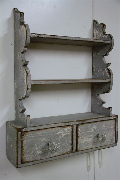 country wall shelf cottage chic wall by