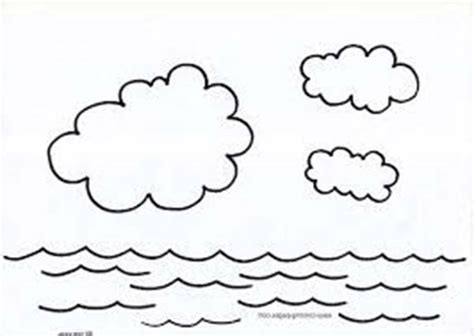 Coloring Page Water by Free Water Cycle Coloring Sheets Free Water Cycle