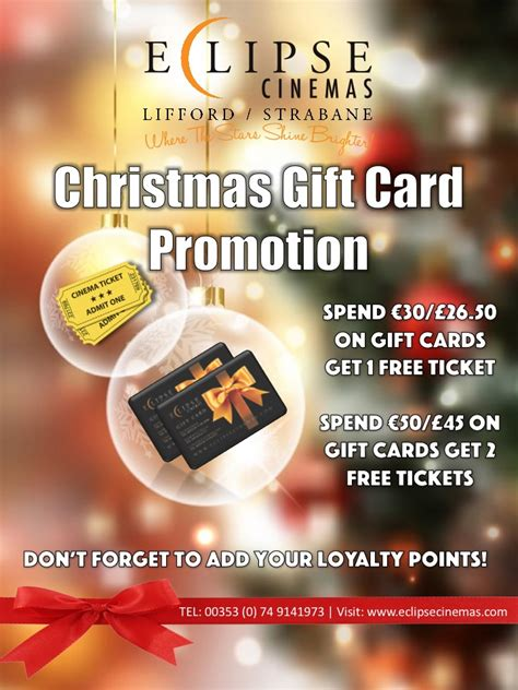 xmas gift card promotion santa elves and classic all on the way to eclipse cinemas donegal daily