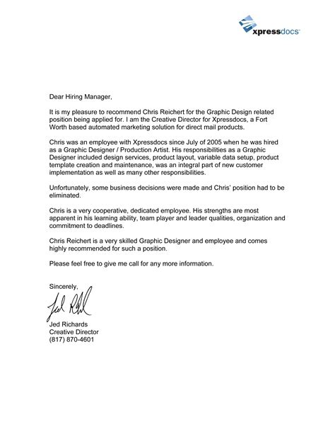 best photos of personal reference letter of recommendation template downloadable personal