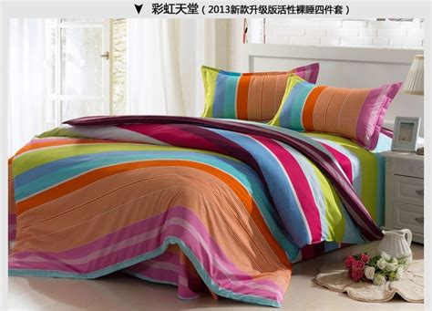 colorful comforter sets king free shipping comforter cotton good quality colorful