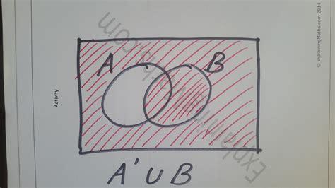 venn diagram shading solver learn how to shade venn diagrams help with igcse gcse