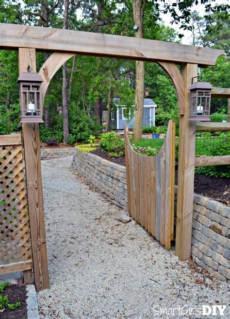 Garden Arch Fence 17 Best 1000 Ideas About Arbor Gate On Fence