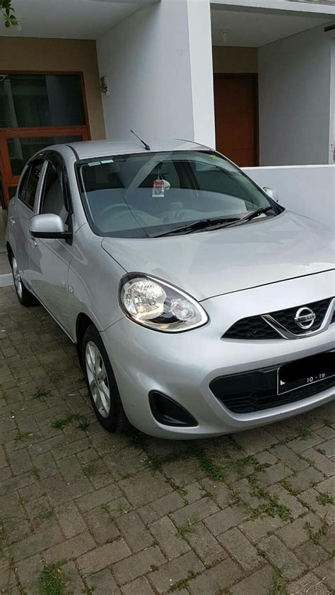 Jual Nissan March 2013 jual nissan march 2014 1 2 mt mobilbekas