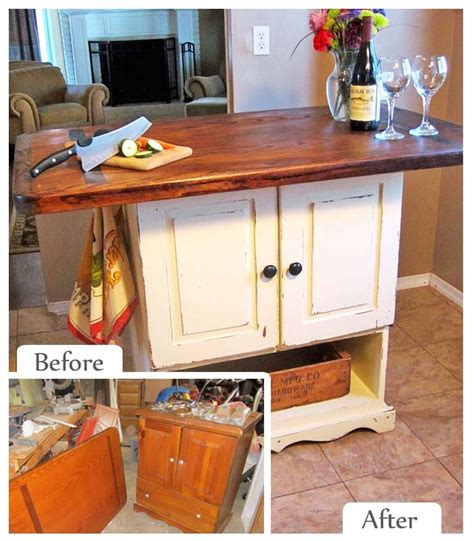 Upcycled Kitchen Ideas 17 Best Images About Avant Apres On Pinterest Butcher Blocks Wood Crafts And Desks