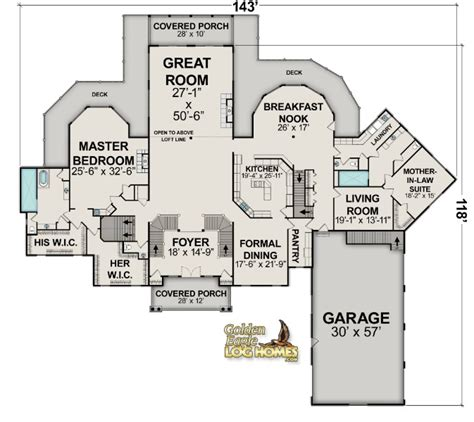 cabin layout plans log cabin layout floorplans log homes and log home floor