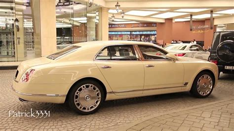 Bentley Mulsanne Cream White Youtube